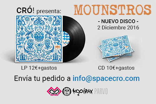 preorder CD Mounstros